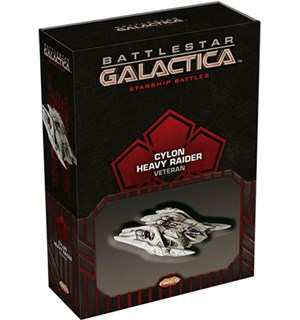 Battlestar Galactica Cylon Heavy Veteran Starship Battles Utvidelse - Raider