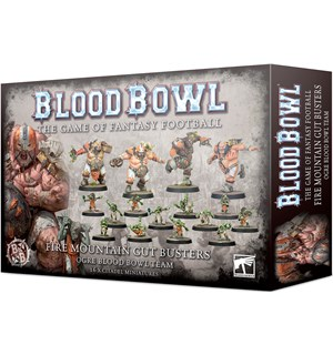 Blood Bowl Team Fire Mountain Gut Buster
