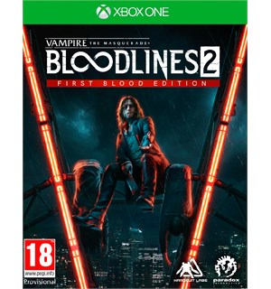 Bloodlines 2 First Blood Edition Xbox Vampire The Masquerade - Xbox One