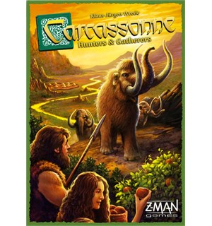 Carcassonne Hunters Gatherers Brettspill Norsk utgave - Hunters & Gatherers