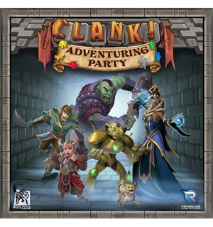 Clank Adventuring Party Expansion Utvidelse til Clank & Clank Legacy