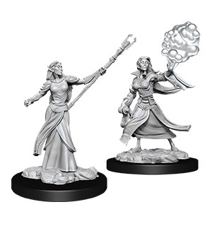 D&D Figur Nolzur Elf Sorcerer Female Nolzur's Marvelous Miniatures