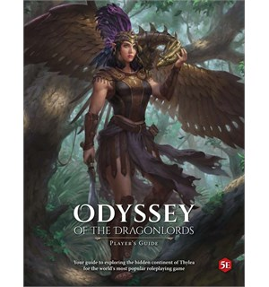 D&D Odyssey Dragonlords Players Guide Dungeons & Dragons Supplement