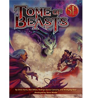 D&D Suppl. Tome of Beasts Pocket Edition Dungeons & Dragons Supplement