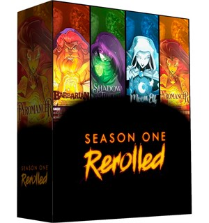Dice Throne Season 1 ReRoll Box 1 Starter Set med fire karakterer