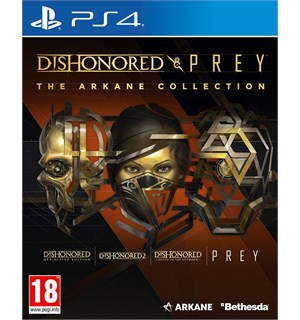 Dishonored & Prey Collection PS4 The Arkane Collection