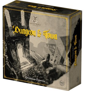 Fantasy World Creator Dungeon & Town Exp Utvidelse til Fantasy World Creator