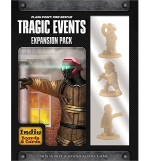 Flash Point Tragic Events Expansion Utvidelse til Flash Point Fire Rescue