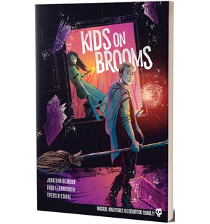 Kids On Brooms RPG Core Rulebook