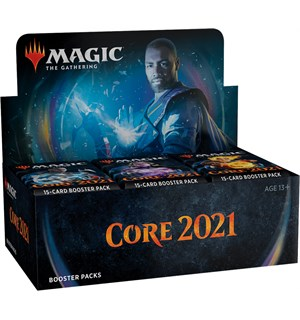 Magic Core 2021 Display 36 boosterpakker