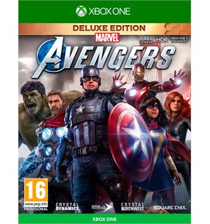 Marvels Avengers Deluxe Edition Xbox One