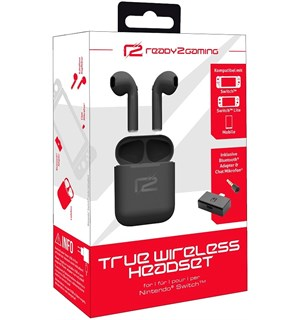 Nintendo Switch True Wireless Headset Perfekt når du er på farten med Switch!