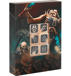 Ossiarch Bonereapers Dice Set Warhammer Age of Sigmar