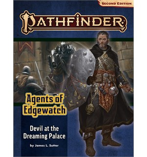 Pathfinder 2nd Ed Agents Edgewatch Vol 1 Devil at the Dreaming Palace - Adventure