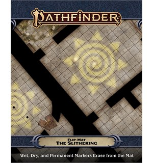 Pathfinder Flip Mat The Slithering Second Edition RPG