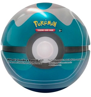 Pokemon Tin Pokeball Dive (Blå) Spring 2020 Edition