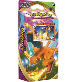 Pokemon Vivid Voltage Theme Charizard Sword & Shield 4 Theme Deck
