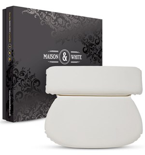 SPA Luksus Badepute i Gaveboks Maison & White Bath Pillow