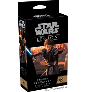 Star Wars Legion Anakin Skywalker Exp Utvidelse til Star Wars Legion