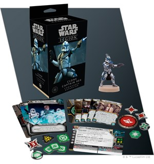 Star Wars Legion Clone Captain Rex Exp Utvidelse til Star Wars Legion