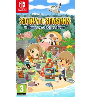 Story of Seasons Olive Town Switch Pioneers of Olive Town