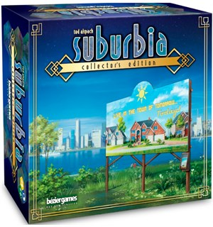 Suburbia Collectors Edition Brettspill