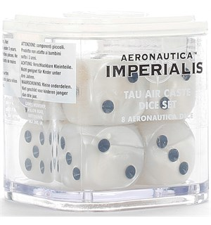Tau Air Caste Dice Set Aeronautica Imperialis