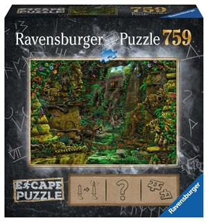 Temple 759 biter Puslespill Ravensburger Escape Room Puzzle