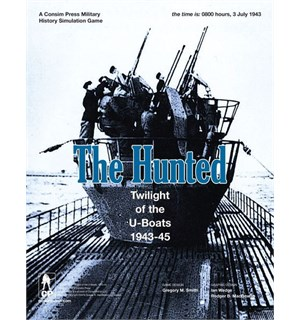 The Hunted Brettspill Twilight of the U-Boats 1943-45