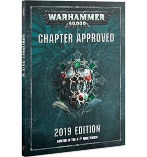 Warhammer 40K Chapter Approved 2019