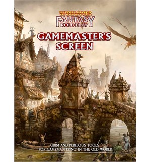 Warhammer RPG Gamemasters Screen Warhammer Fantasy - GM Screen