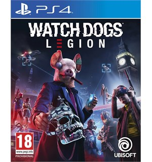 Watch Dogs Legion m/ bonus PS4 Pre-order og få Golden King Pack DLC