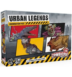 Zombicide 2nd Edition Urban Legends Exp Urban Legends Abomination Pack