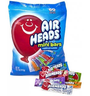 Airheads Mini Bars - 80 stk