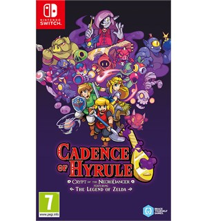 Cadence of Hyrule Switch Crypt of the Necrodancer feat. Zelda