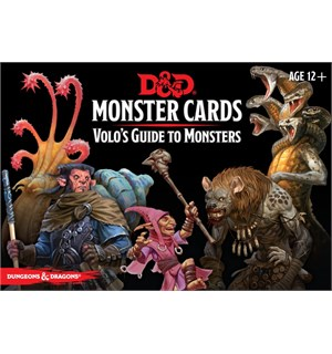 D&D Cards Monster Volos Guide Monsters Dungeons & Dragons - 81 kort