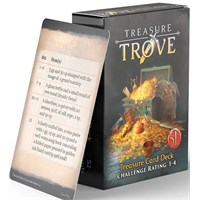 D&D Treasure Trove Deck CR 1-4 Dungeons & Dragons - 52 kort