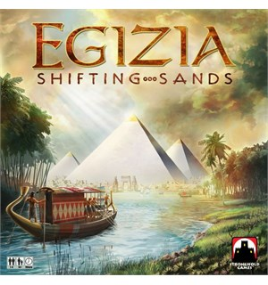 Egizia Shifting Sands Brettspill