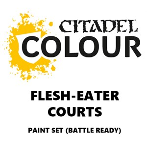 Flesh Eater Courts Paint Set Battle Ready Paint Set for din hær