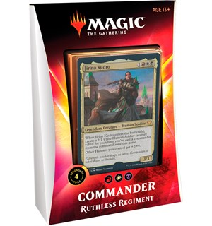 Magic Commander Deck Ruthless Regiment Ikoria Lair of Behemoths - 100 kort