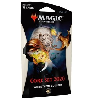 Magic Core Set 2020 Theme Booster White Theme Booster - 35 hvite kort