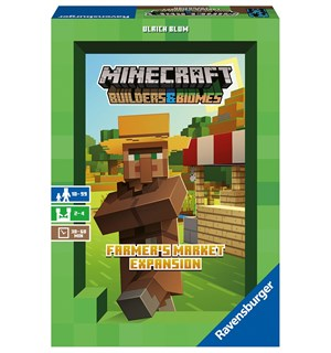 Minecraft Farmers Market Expansion Utvidelse Minecraft Builders & Biomes