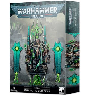 Necrons Szarekh The Silent King Warhammer 40K