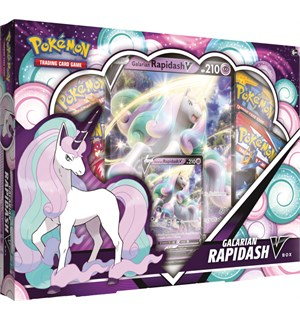 Pokemon V Box Galarian Rapidash V