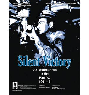Silent Victory Brettspill US Submarines in the Pacific 1941-45