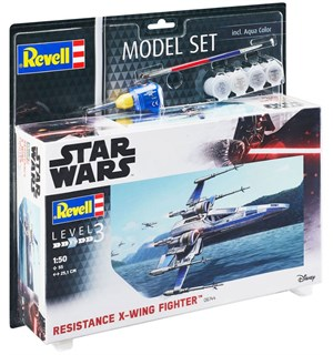 Star Wars X-Wing Starter Set Byggesett Revell 1:50