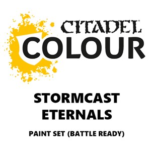 Stormcast Eternals Paint Set Battle Ready Paint Set for din hær