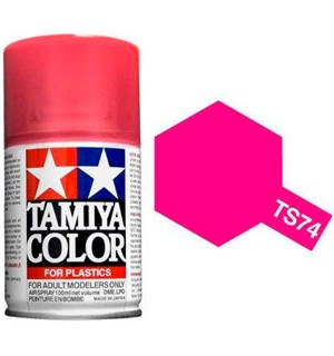 Tamiya Airspray TS-74 Clear Red Tamiya 85074 - 100ml
