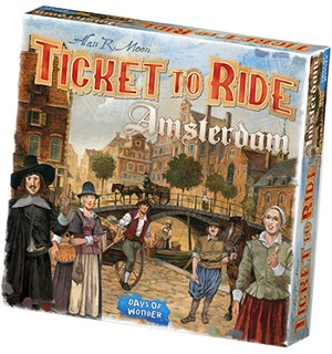 Ticket to Ride Amsterdam Brettspill Norsk utgave