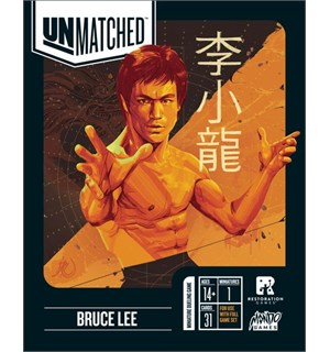 Unmatched Bruce Lee Expansion Utvidelse til Unmatched